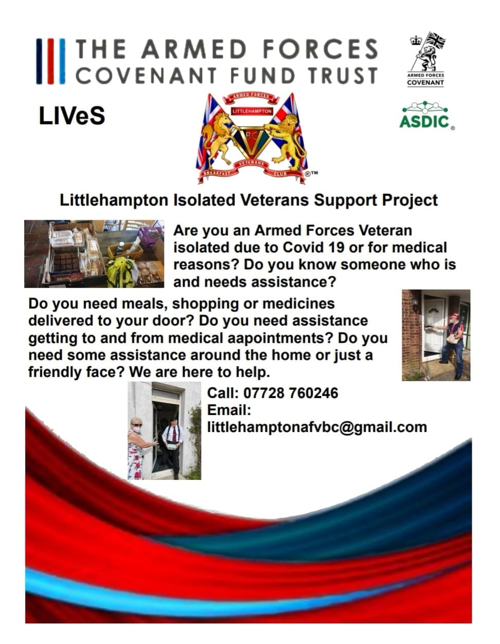 Little Hampton Isolated Veterans Support Project
