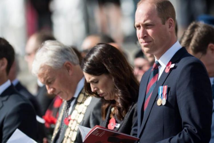Prince William Joins Anzac Day Commemorations