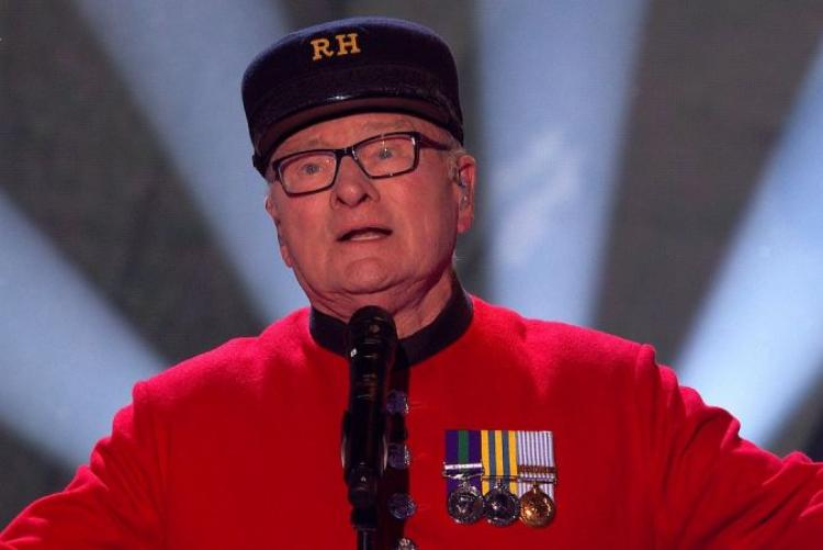 Chelsea Pensioner Colin Thackery Wins Britain's Got Talent
