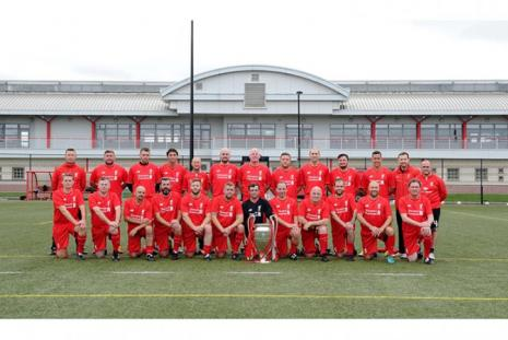 Liverpol FC Foundation - Veterans with EURO Cup