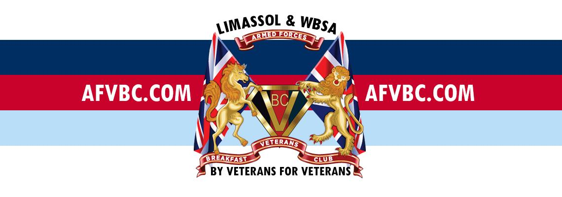 Limassol Armed Forces & Veterans Breakfast Club Facebook Banner