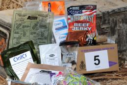The 12-hour Operational Ration Pack (ORP), issued to British soldiers in Afghanistan (Picture: MOD)