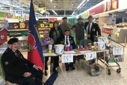 Littlehampton Armed Forces Veterans Breakfast Club overwhelmed by support from customers at Morrisons