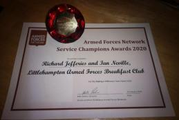 Littlehampton Armed Forces Champion Award