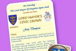 Lord Mayor's Civic Award Image